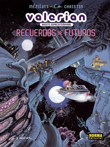 valerian 3 agente espaciotemporal 8498147573 valerian agente espaciotemporal recuerdos de futuros norma editorial