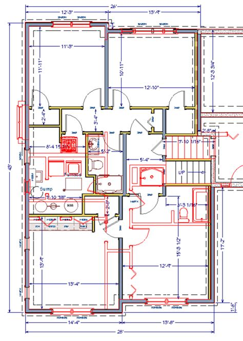 How to run HVAC supply /return & plumbing   keep out of the way   Home Improvement Stack Exchange