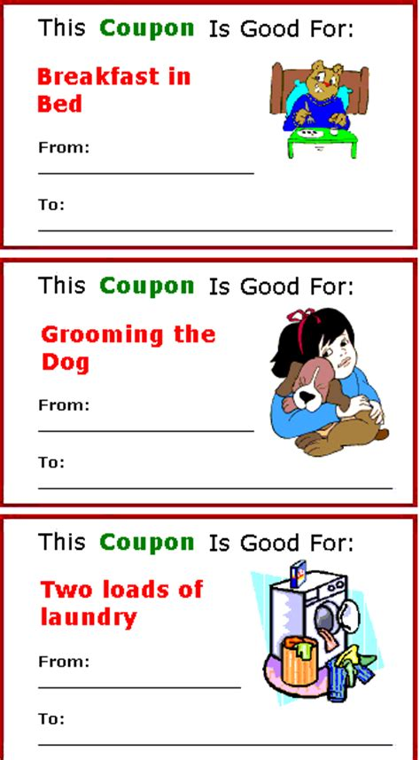 Design Your Own Coupon Book Free Coupon Printables 24 7