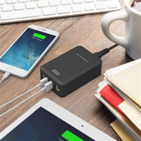 test porte usb aukey aipower 3 usb charger usb charger im test