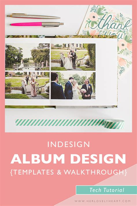 indesign wedding album templates indesign album templates walkthrough the lovely