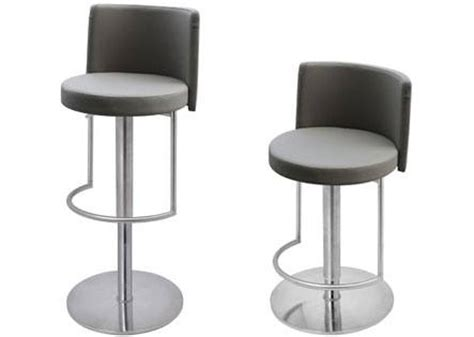 monza bar stool hnd monza bar stool brushed steel finish black or