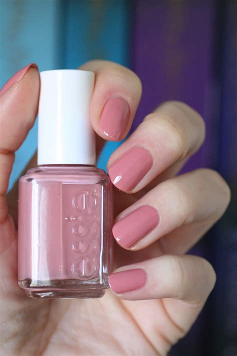 what is the number 1 nail colour essie rose comparison eternal optimist fun in the