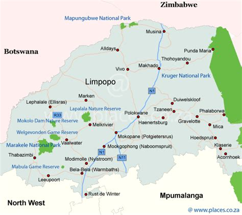 Our Town House Plans by Map Of Limpopo