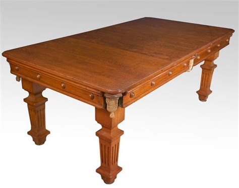 Antique Snooker Dining Table Oak Snooker Dining Table For Sale Antiques Classifieds