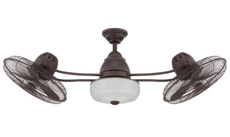 ceiling fan with double oscillating ceiling inspiring oscillating outdoor ceiling fan