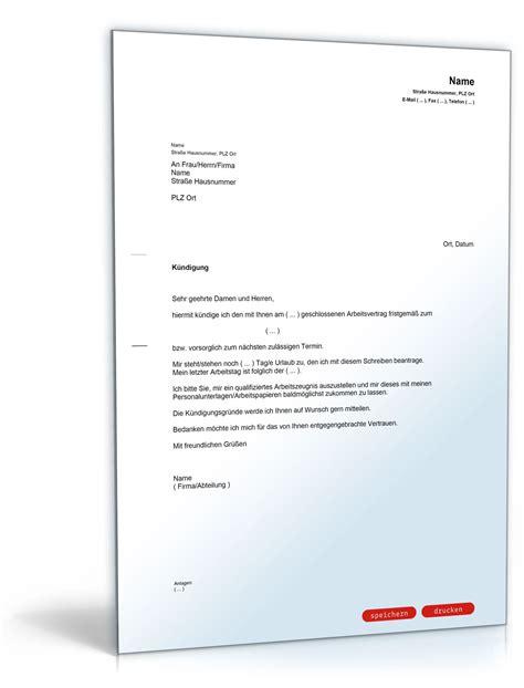Vorlage Kündigung Arbeitsvertrag Arbeitgeber Kostenlos Arbeitsvertrag K 252 Ndigung Vorlage K 252 Ndigung Vorlage Fwptc