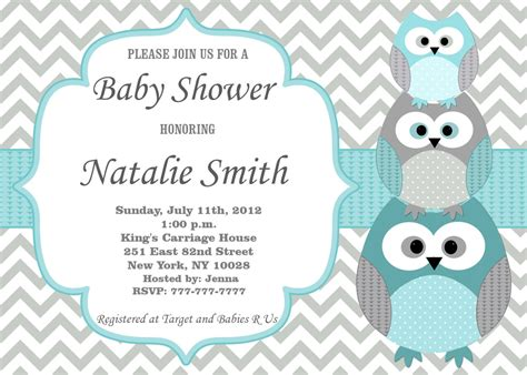 Baby Boy Shower Templates Invitations by Baby Shower Invitation Baby Shower Invitation Templates
