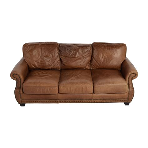 used reclining sofa used brown leather sofa leather reclining sofa ebay thesofa