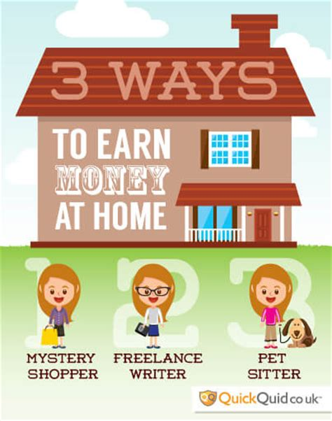 quid corner how to earn money as a stay at home parent