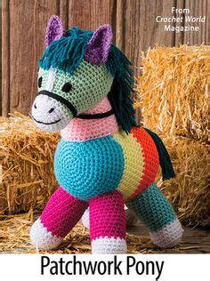 Patchwork Pony - 1000 images about crochet world magazine on