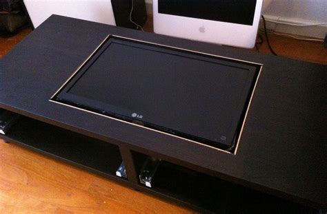 Arcade Coffee Table Disguise Your Gaming Addiction With This Diy Coffee Table Arcade Machine 171 Hacks Mods Circuitry