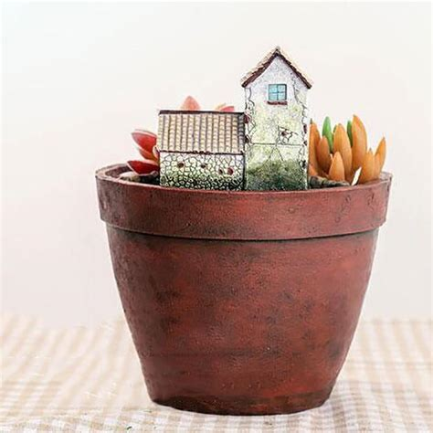 home decor pots diy mini flower pot hanging gardens creative resin pots