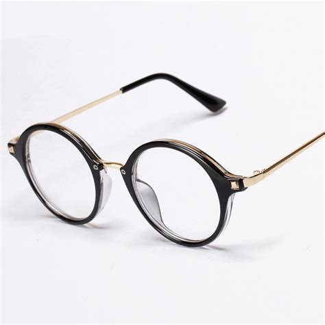 wholesale vintage eyeglasses gold metal rivets