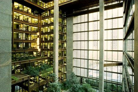 ford headquarters inside decorating brutalism the interiors of kevin roche design