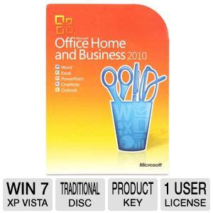 buy the microsoft office home and business 2010 suite at