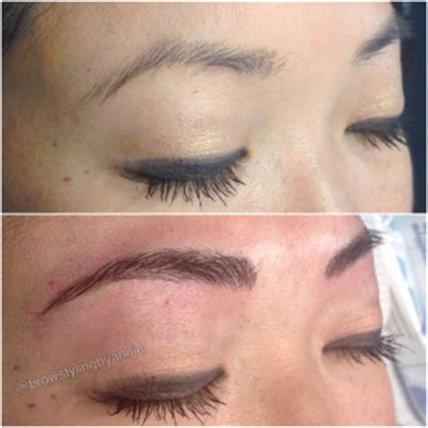 eyebrows tattoo in va microblading salon davachi