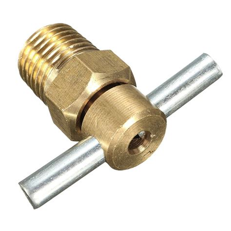 Four Air Brass 4755 by 1 4 Inch Npt Brass Drain Valve For Air Compressor Tank
