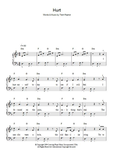 best Johnny Cash Hurt Piano Tutorial Easy image collection