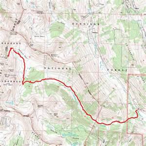 map of colorado wilderness areas raggeds wilderness colorado s areas