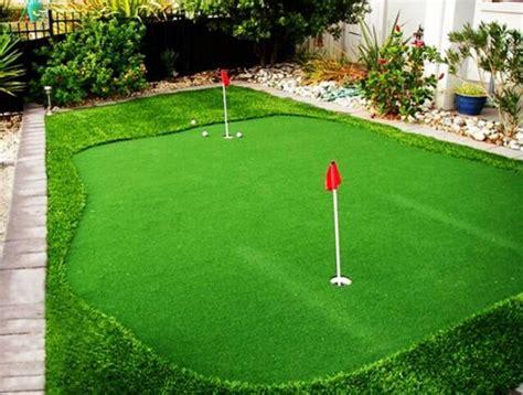 put grass in backyard artificial turf backyard mini golf putting greens buy