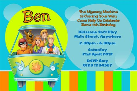 free printable birthday invitations scooby doo free printable scooby doo birthday party invitations