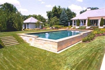 pools on a hill 31 076 pool built into hill home design