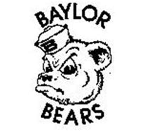 baylor bear coloring pages baylor bears b trademark of baylor university serial