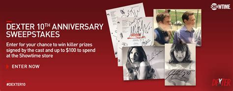 10th anniversary sweepstakes