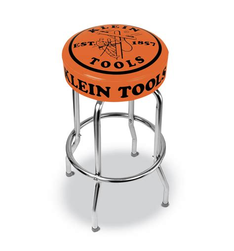 shop bar stool with great work comes great rewards klein tools for