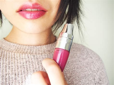 Lancome Lip Tint lancome shaker quot berry in quot review and swatches