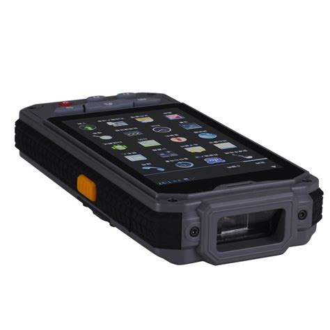mobile scanner android android mobile biometric device with barcode scanner 1dhf