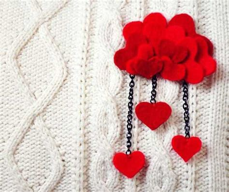 Handmade Hearts Crafts - handmade hearts decorations that make fantastic gifts 50
