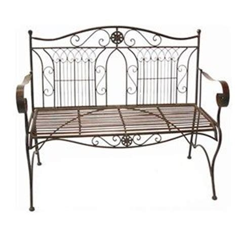 garden bench bunnings marquee rustic iron garden bench bunnings warehouse