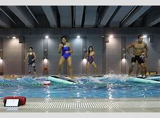 HydroFit Aqua Fitness: Exercise On A Floating Mat in A ... Healthy Balance