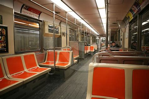 Metro New York Interieur by Broad Subway Car Interior