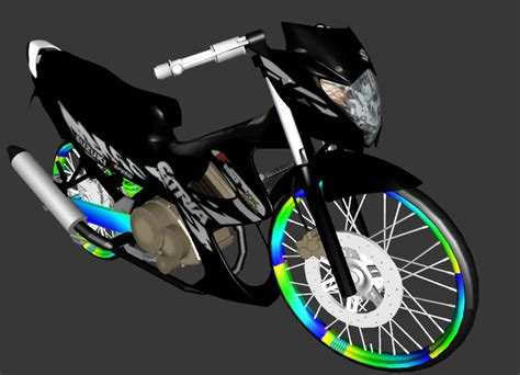 Kaos Racing Raceline 201 No Speed No Happy mod gta sa drag bike baihaqi satria f 150 new