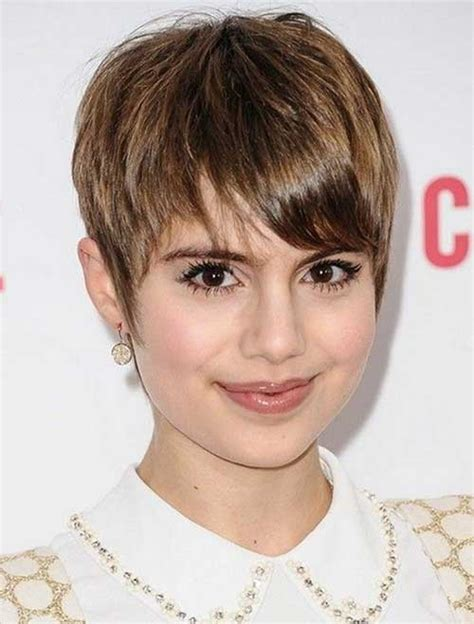 is pixie cut hair ok for chubby cheeks 15 pixie hairstyles for round faces pixie cut 2015