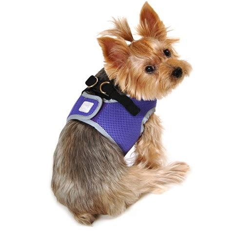 simply harness simply simply purple reflective harness dogs walmart