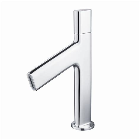 kraus bathroom faucets kraus ino single hole 1 handle low arc bathroom faucet in