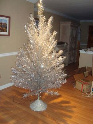 silver forest aluminum christmas tree vintage ornaments antique price guide