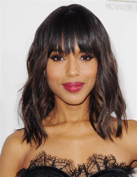 kerry washington hair pin up kerry washington chestnut highlights and washington on