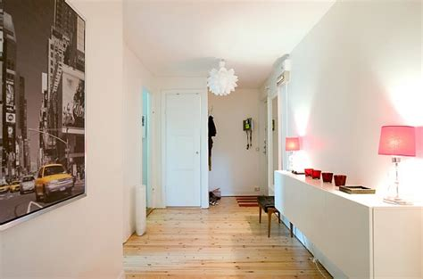 apartment  light wood floors painted white walls