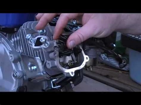 Goon V 15 Clone 6 5 hp honda clone replacing setting valve lash