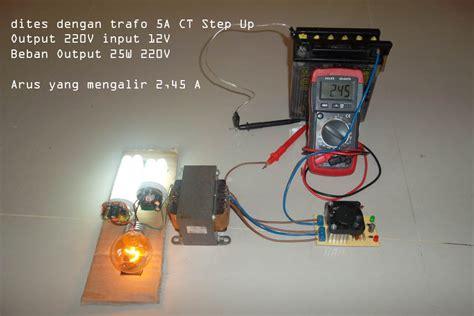 Kit Inverter Dc 12v Ke Ct 18v24v32v membuat inverter 12vdc ke 220vac murah sederhana isnan