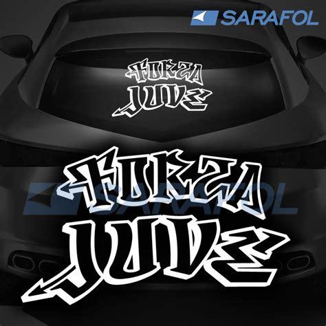 Länder Aufkleber Auto Italien by Forza Juve Graffiti Style Adesivo Aufkleber Juventus Auto