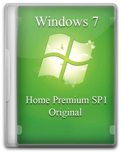 windows 7 home premium sp1 original by a l e x