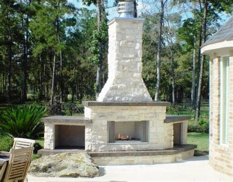 outdoor fireplace houston fireplaces outdoor fireplaces homescapes of houston