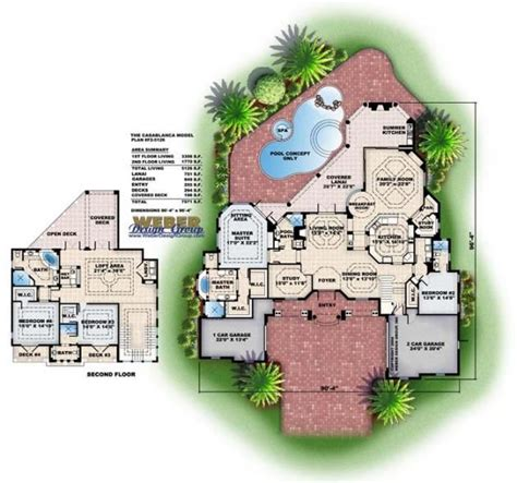 mediterranean house plan artesia house plan weber casablanca floor plan by weber design group mediterranean