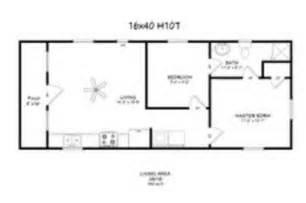 2 bedroom cabin floor plans
